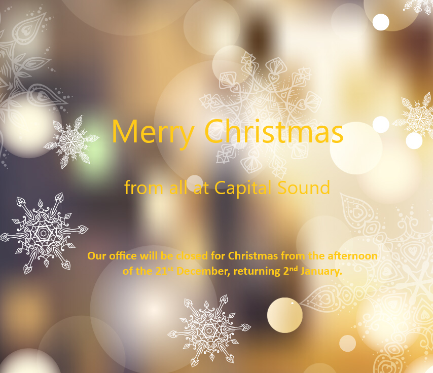 Merry Christmas From All At Capital
