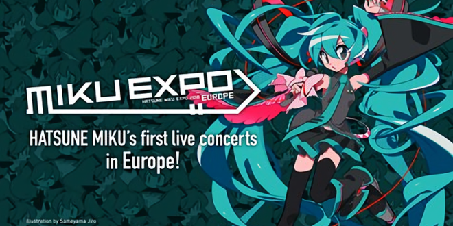 3D Hologram Hatsune Miku on Tour with Capital Sound